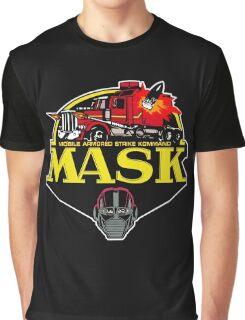 MASK Mobile Armored Strike Kommand Retro 80's Cartoon Graphic T-Shirt