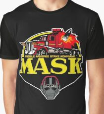 MASK Mobile Armored Strike Kommand Retro 80's Cartoon Graphic T-Shirt
