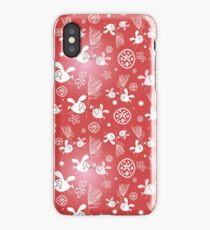 pattern of birds lovers  iPhone Case/Skin