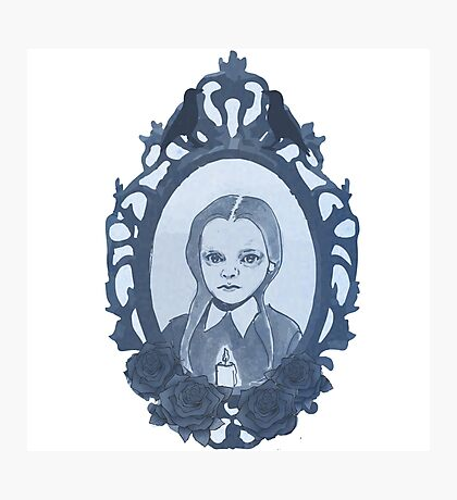 Little Addams Photographic Print