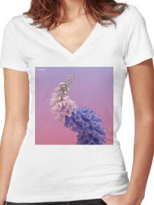 Flume - Skin Album Cover Artwork Women's Fitted V-Neck T-Shirt