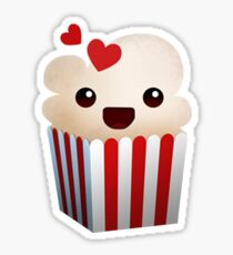 Popcorn Time Sticker