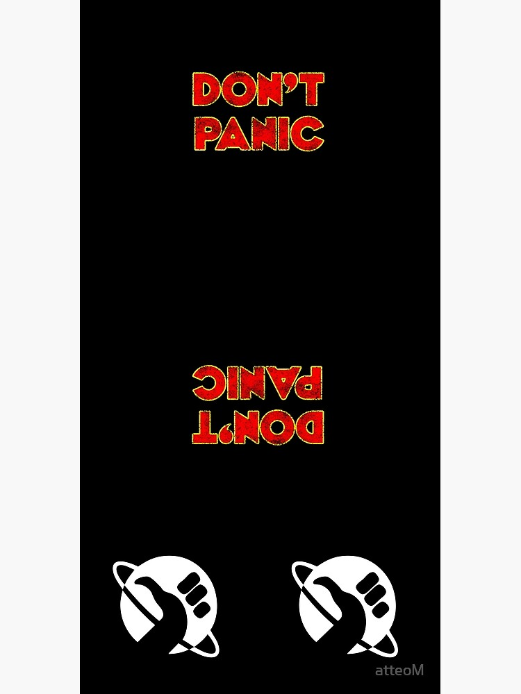 Dont Panic color by atteoM