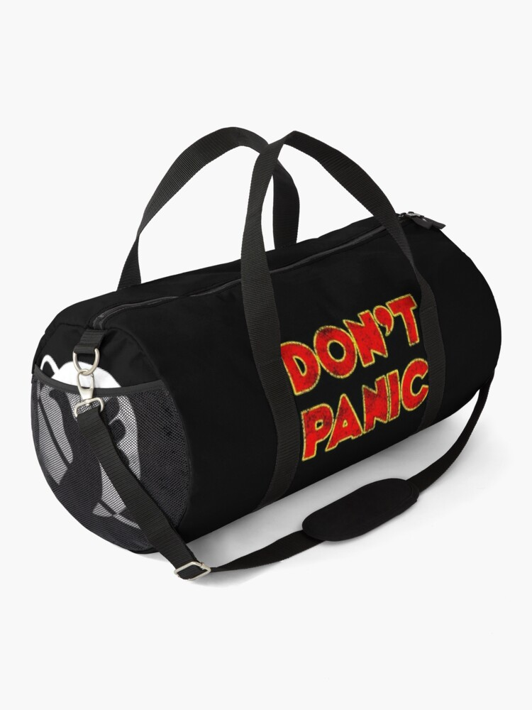 Alternate view of Dont Panic color Duffle Bag