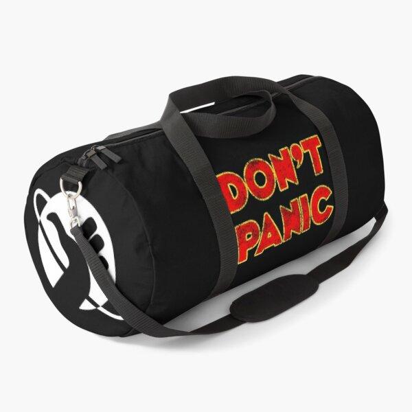 Dont Panic color Duffle Bag