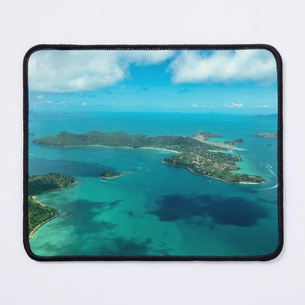 Hamilton Island, Witsundays Islands, Aerial Mouse Pad