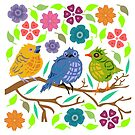 Birds by evisionarts