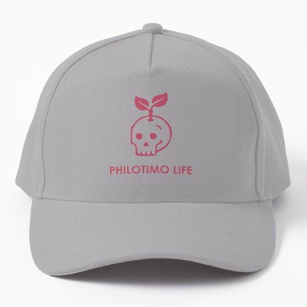 Philotimo Life Skull Hat Baseball Cap