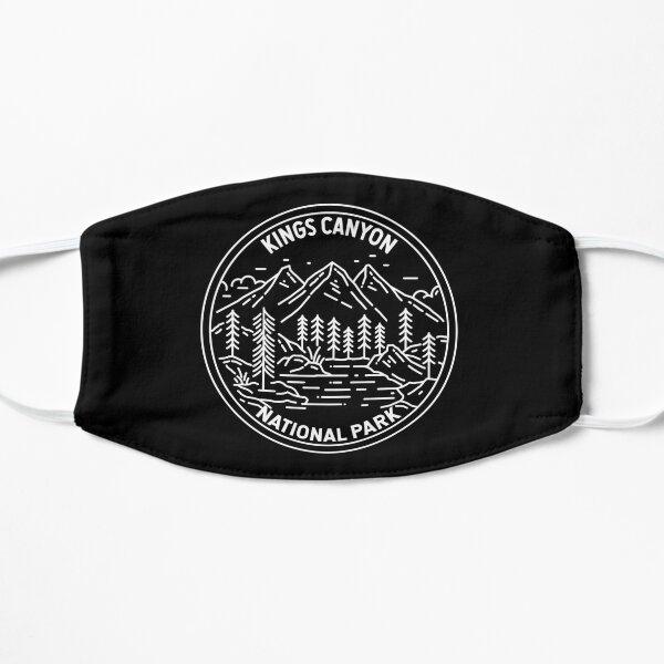 Kings Canyon National Park California Monoline Flat Mask