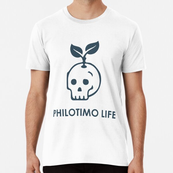 Philotimo Life Skull Shirt Premium T-Shirt