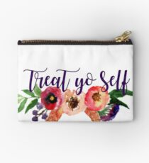 Floral Treat Yo Self Studio Pouch