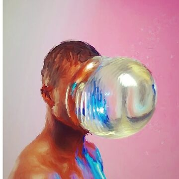 Bubble Man  by onlinegarbage