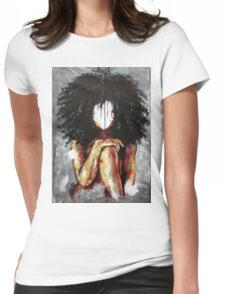 Naturally I Womens Fitted T-Shirt