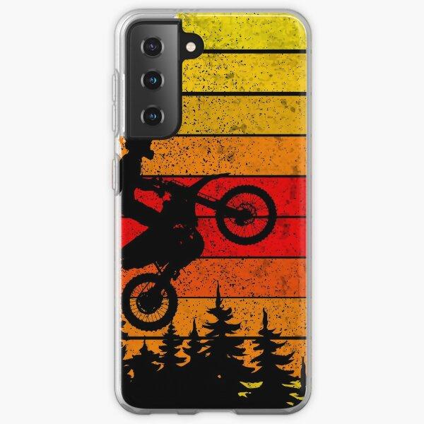 Motocross Dirt Bike Vintage retro MTB  Samsung Galaxy Soft Case