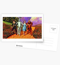 Down the Yellow Brick Road Postcards