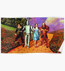 Down the Yellow Brick Road Poster