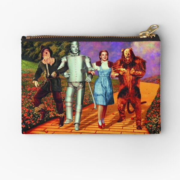 Down the Yellow Brick Road Zipper Pouch