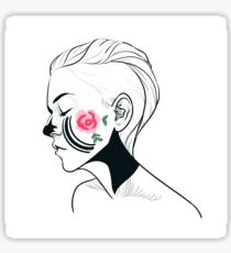 Emmy Facepaint Sticker
