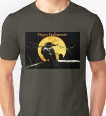 Full Moon Shining ~ Black Crow Unisex T-Shirt