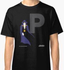 The Phantom Stranger - Superhero Minimalist Alphabet Clothing Classic T-Shirt