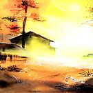 Good Morning In Village by Anil Nene