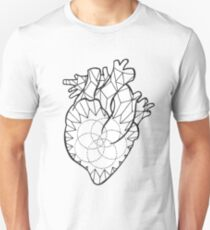 Crystal Heart Unisex T-Shirt