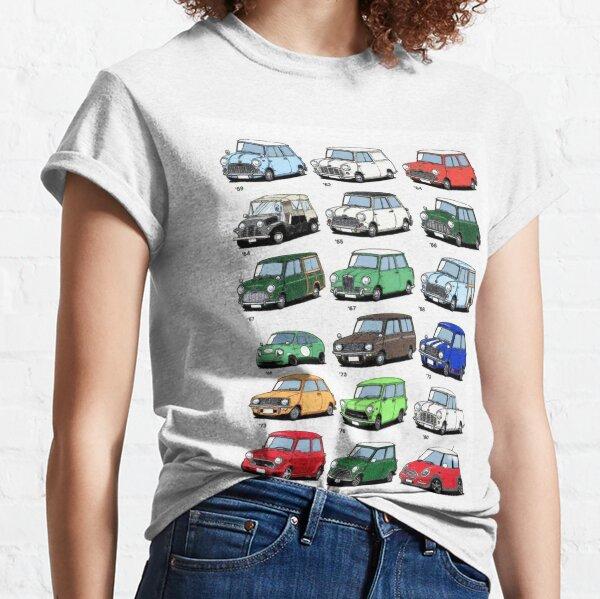 Mini time line Classic T-Shirt