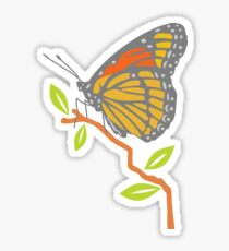Viceroy Butterfly Sticker