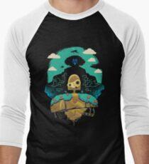 Sky Castle Automaton Men's Baseball ¾ T-Shirt