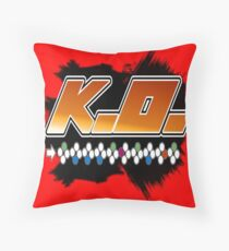 Knock Out 10 Hit Combo Throw Pillow