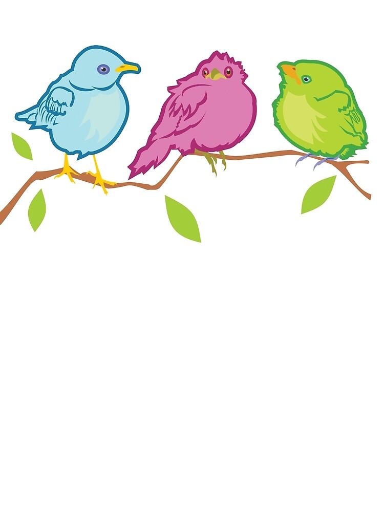 Three Birds by evisionarts