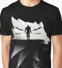Geralt Medallion Graphic T-Shirt