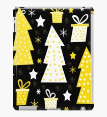 Yellow playful Xmas iPad Case/Skin