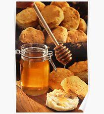 Delicious Honey Jar Poster