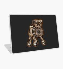 Steampunk Pug Laptop Skin