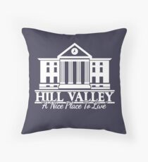 Clocktower Throw Pillow