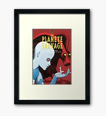 Fantastic Planet - La Planete Sauvage Framed Print