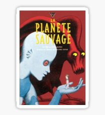 Fantastic Planet - La Planete Sauvage Sticker