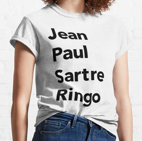 ORIGINAL - Jean Paul Sartre Ringo Classic T-Shirt