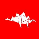 Prehistoric Origami - Stegosaurus by SevenHundred