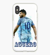 Sergio Kun Aguero iPhone Case
