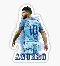 Sergio Kun Aguero Sticker