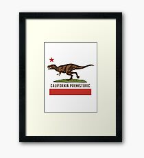 California Prehistoric Framed Print
