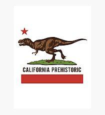 California Prehistoric Photographic Print