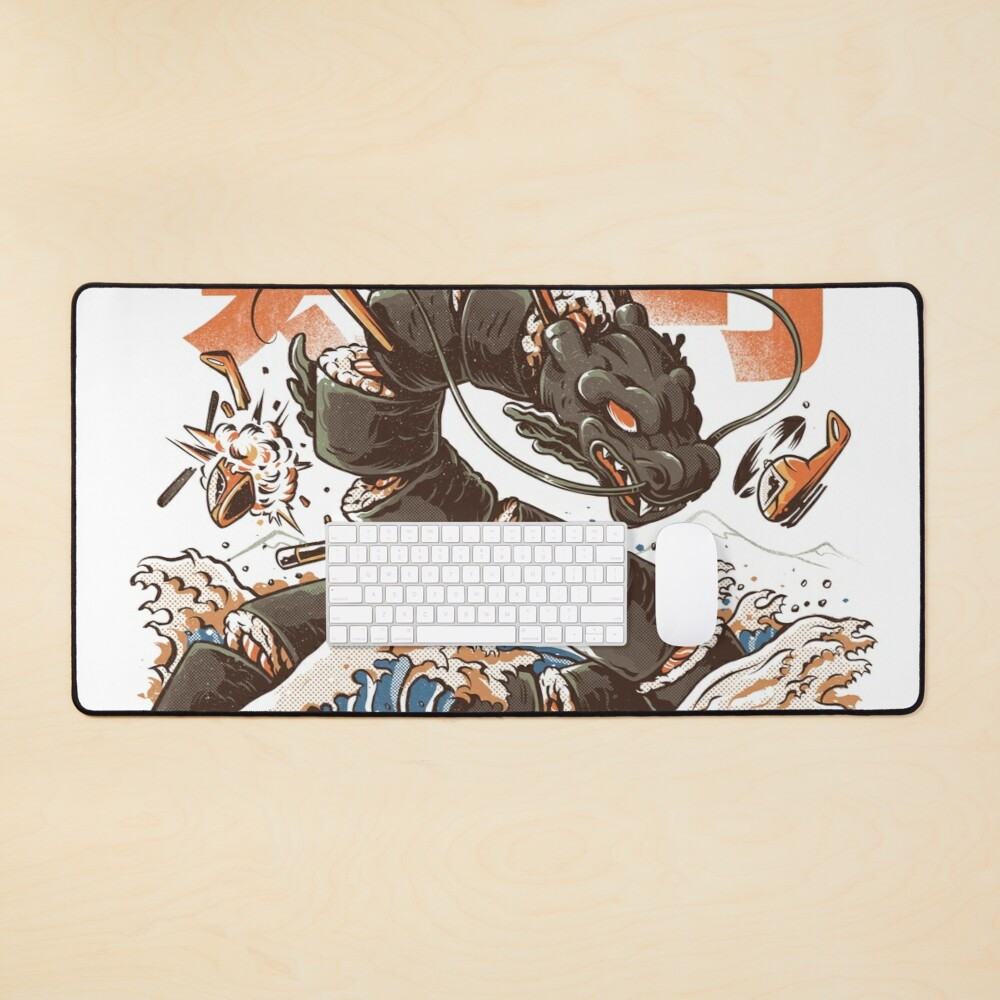 Great Sushi Dragon  Mouse Pad