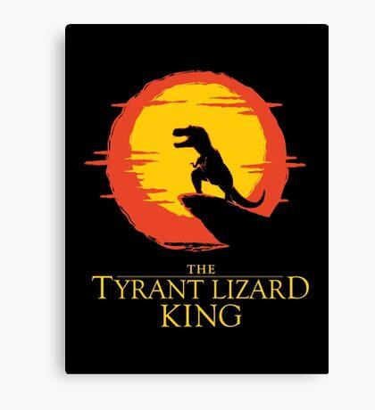 The Tyrant Lizard King  Canvas Print