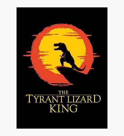 The Tyrant Lizard King  Photographic Print