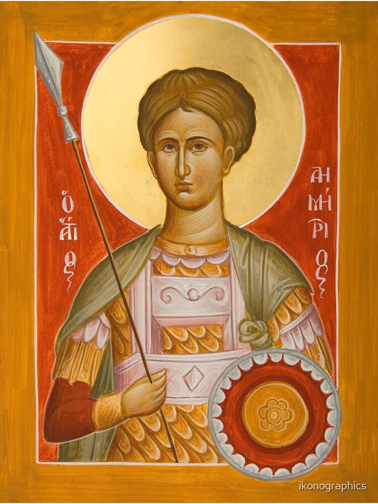 St Demetrios the Myrrhstreamer by ikonographics