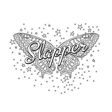 Slapper Butterfly Design Ella Cotton by shufti