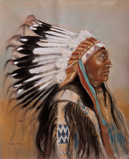 Brule-Sioux Chief by itchingink